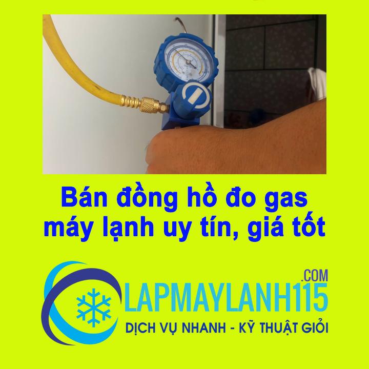 Bán đồng hồ đo gas máy lạnh uy tín, giá tốt nhất thị trường