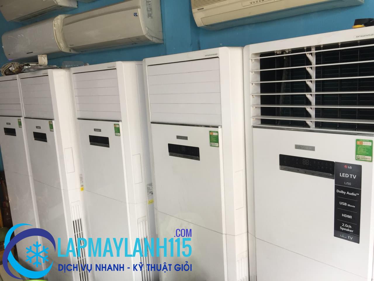 Dịch vụ cho thuê máy lạnh công nghiệp tại Sài Gòn