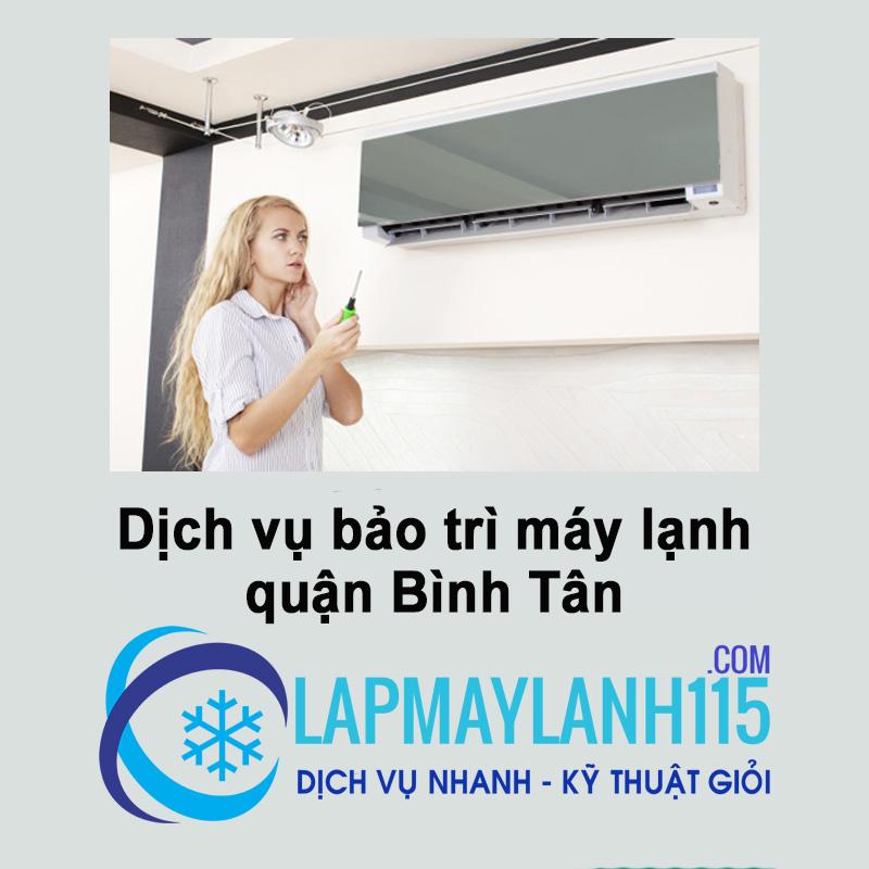 Bảo trì máy lạnh quận Bình Tân - Địa chỉ bảo trì máy lạnh giá rẻ