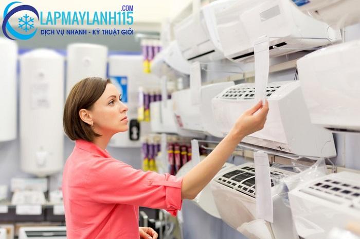 Hình thức mua máy lạnh trả góp