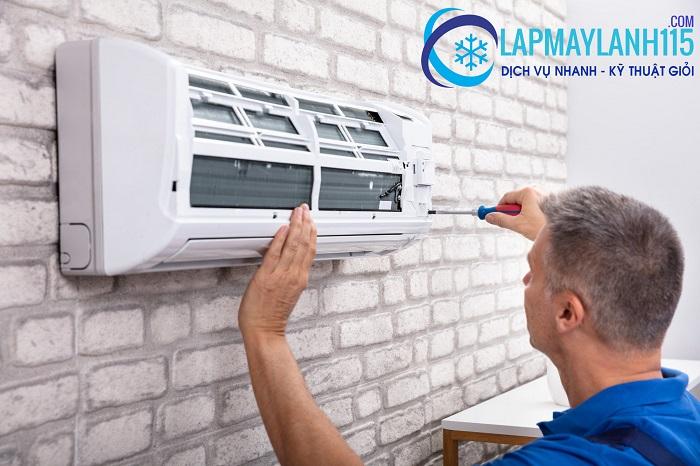 Dịch vụ sửa máy lạnh quận Tân Bình