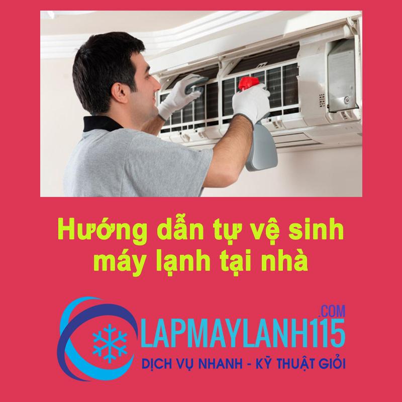 Hướng dẫn cách tự vệ sinh máy lạnh