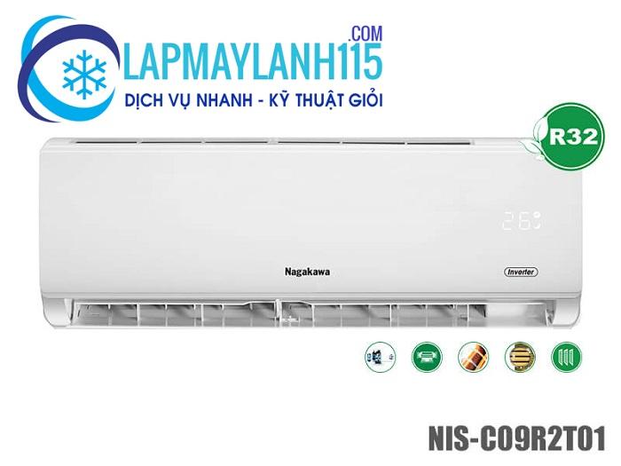 Máy lạnh Nagakawa 1 chiều inverter NIS-C09R2T01
